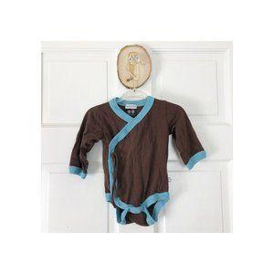 Babysoy Kimono Bodysuit 0-3m